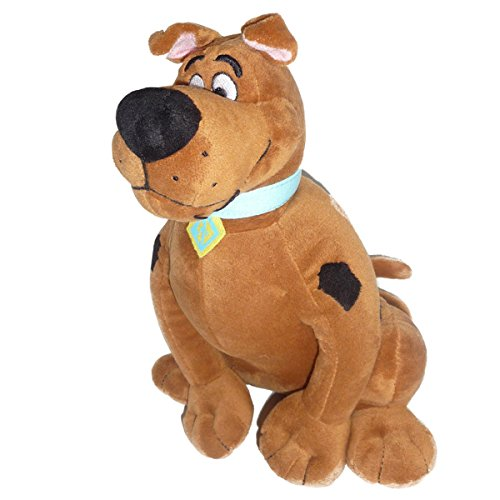 Cartoon Network W032 – Peluche Scooby Doo Sentado, de 25 cm