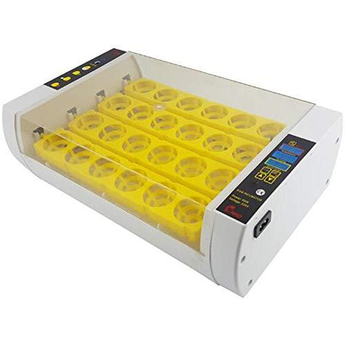 STEY Mini 24 automatische Ei-Temperaturregelung Hoch- und Niedertemperatur-Alarm Hühner-Inkubator Digitale Konstanttemperatur für Heimlabor-Farm-Lehrmittel-Inkubator -