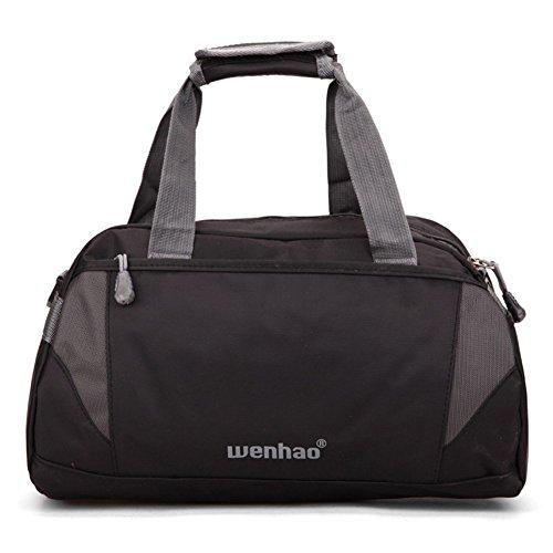 Super Moderne Nylon Bagages Sporty Gear Bag Sac Voyage Sac de Sport Sac de Sport Avec Compartiment ¨¤ Chaussures