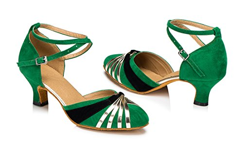 TDA - Strap alla caviglia donna 5cm Heel Green