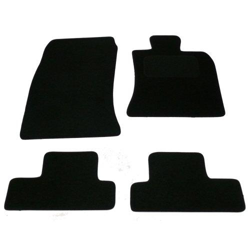 Sakura–Alfombrillas Mini Convertible en alfombra con alfombra heelpad 2004–2008, color negro