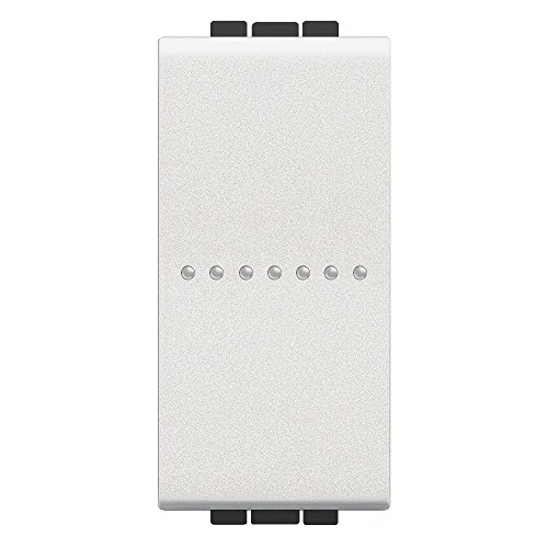 BTicino SN4051AF Livinglight Interruttore Assiale, Bianco