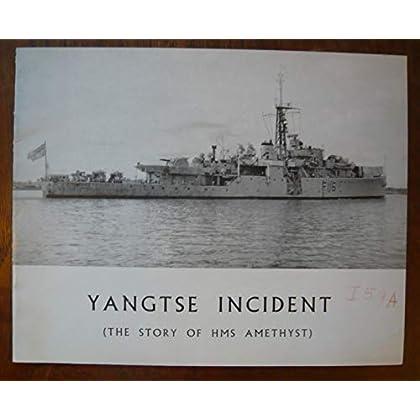 Dossier de presse de Yangtse Incident – The story of HMS Amethyst (1957) - 25x20 cm, 12 p – Film de Michael Anderson avec Todd, W Hartnell – Photos N&B des acteurs - résumé du scénario – Bon état.