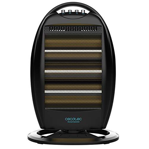 Cecotec Radiador de Cuarzo Ready Warm 7100 Quartz Rotate. 3 Potencias, Oscilación, Rejilla de Seguridad...