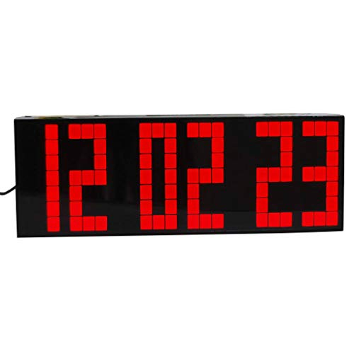 Republe Fernbedienung Große Digitale LED-Wecker Countdown-Timer Big Screen Sport Stoppuhr Snooze Temperatur Startseite Decortion