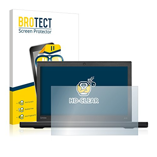 BROTECT Schutzfolie kompatibel mit Lenovo ThinkPad X270 [2er Pack] klare Bildschirmschutz-Folie