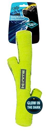 K-Nite Glowing Wood Stick neongelbes Hundespielzeug flu… | 00847922033187