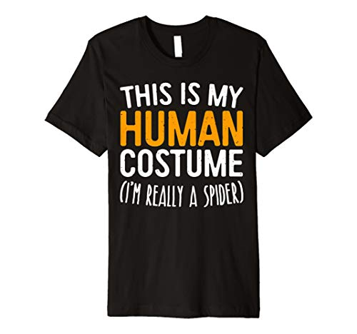 (This Is My Echthaar Kostüm Ich bin wirklich ein Spider T-Shirt)