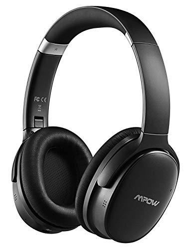Mpow H10 [Actualizado] ANC Auriculares Bluetooth Diadema con Activa Cancelación de Ruido,Hi-Fi Estéreo y Dual Micrófono,Over-Ear 18 a 25 Horas Auriculares Inalámbricos Bluetooth