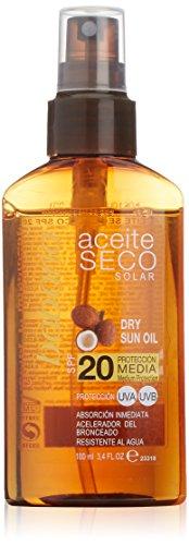 Babaria Aceite Solar Seco Coco SPF20-100 ml