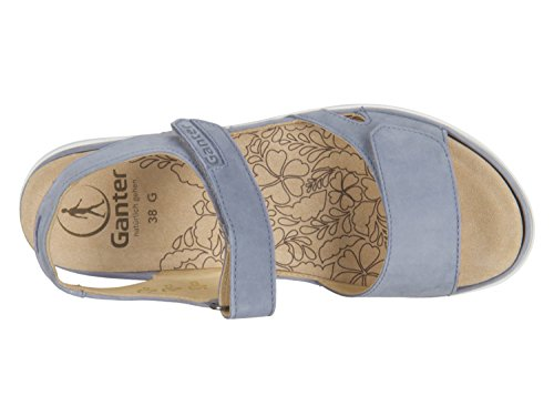 Ganter Ladies Gina-g Sandali Aperti Blu (jeans)