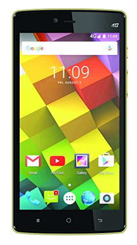 Videocon Cube 3 (Golden-Black)
