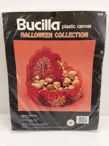 Bucilla Kunststoff Leinwand-Halloween-Kollektion
