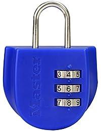 Master Lock Cadenas 4675EURDBLU 14 cm (bleu)
