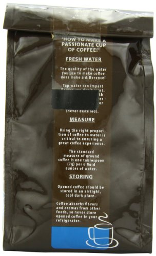 Christopher Bean Coffee Flavored Ground Coffee, Bananas Foster, 12 Ounce