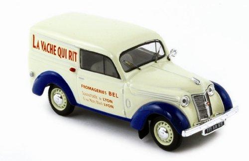 Norev - 519107 - Véhicule Miniature - Renault Juva 4 1952 - La Vache Qui Rit - Echelle - 1/43e