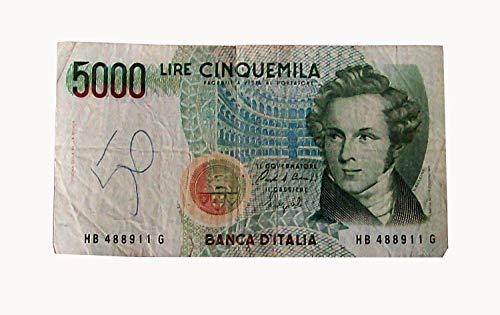 9cafa55096 BANCONOTA 5000 LIRE BELLINI 4 GENNAIO 1985 usato Spedito ovunque in Italia