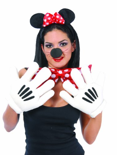 Manone da Topolino o Minnie guanti imbottiti per mascotte