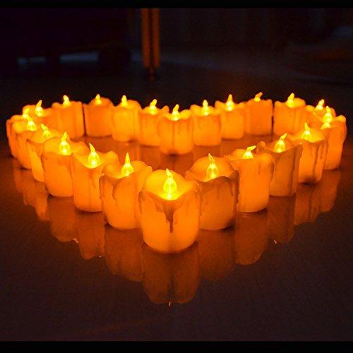 Giftgarden® Candele a LED senza Fiamma Set di 12 - 2.2 Inch