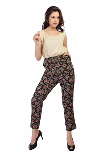 Her Complete Woman Multi Crepe Jumpsuits (XX-Large