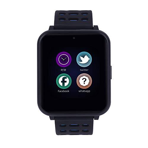 VRTUR intelligente Uhr Herren Damen Smartwatch wasserdichte Sportuhr, Fitness Tracker Pulsuhr Bluetooth4.0 Smart Armband für iOS Android Rot