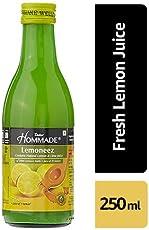 Dabur HommadeLemoneez (Natural Lemon and Lime Concentrate) - 250ml