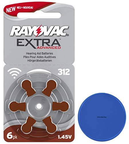 Rayovac 312 Hörgerätebatterien P312 A312 PR41 ZL3 + Online-Sale-Shop Einkaufswagenchip