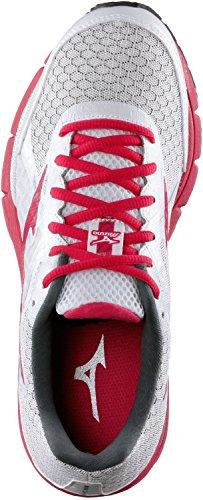 Mizuno - Mizuno Wave Ultima 6 (W) Scarpe Running Donna Argento Tela 140963 Pink