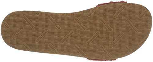 Berkemann Hippie-No-Sandale, Ciabatte Donna Rosso (Rot)