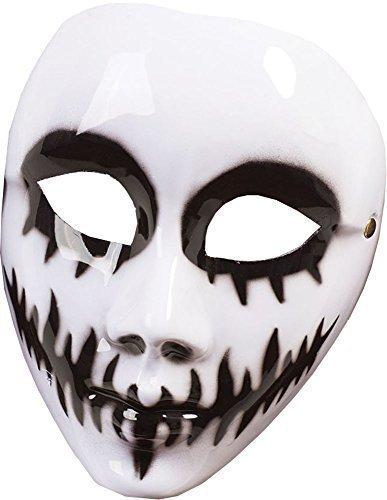 Halloween Kostüm Zubehör weiß Venom Maske ( g / F) (Venom Kostüm Halloween)