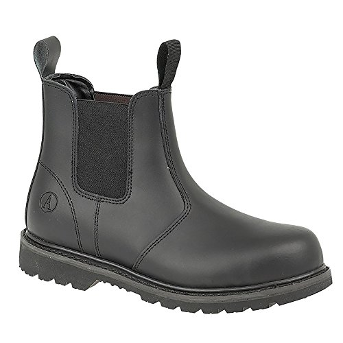 Amblers Unisex FS5 Sicherheits Stiefel / Schuhe (39 EUR) (Schwarz)