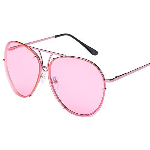 Sonnenbrillen für Frauen Männer übergroße Sonnenbrille Flat Top Big Large Luxury Mirrored