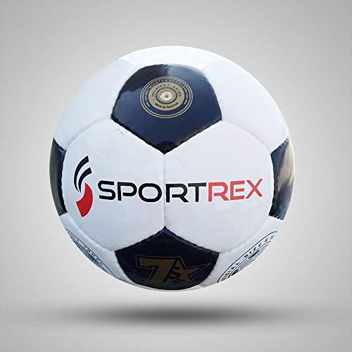 Sportrex Pallone da Calcio Professionale Cucito Mano Misura 5