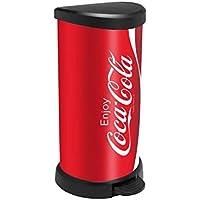 Curver Pattumiera a pedale Coca-Cola 40L