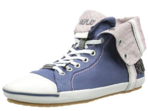 Replay Brooke, Sneaker uomo, Blu (blu), 36