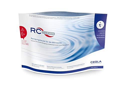 RC - Clean Beutel zur Reinigung von Babyartikeln und Medizinprodukten, Sterilisationsbeutel für die Mikrowelle, 5 Stück