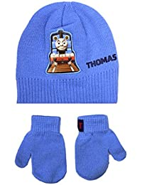 Hit Entertainment Official Licensed Thomas The Tank Engine Hat And Mittens Set 2-4 Years Blue