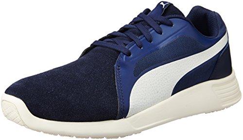 Puma Unisex-Erwachsene ST Trainer Evo SD Low-Top Blau (peacoat-whisper white 03) 45 EU