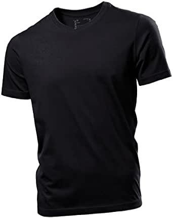 Hanes Herren ComfortSoft T-Shirt mit V-Ausschnitt 7010 Black L