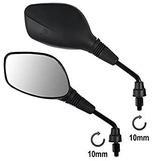 A-pro Rearview Mirrors Scooter M10 Motorcycle Motorbike Handlebar Universal Moped