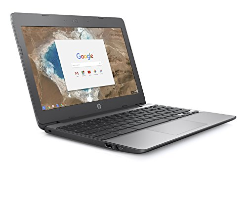 HP Chromebook 11-v001na 11.5-Inch Laptop - (Silver) (Intel N3060, 4 GB RAM, 16 GB eMMC, Intel HD Graphics 400 Graphics, Chrome OS)