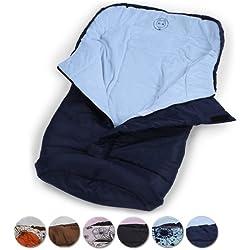 Infantastic - Saco portabebés de poliéster aprox. 120 x 50 cm - color azul