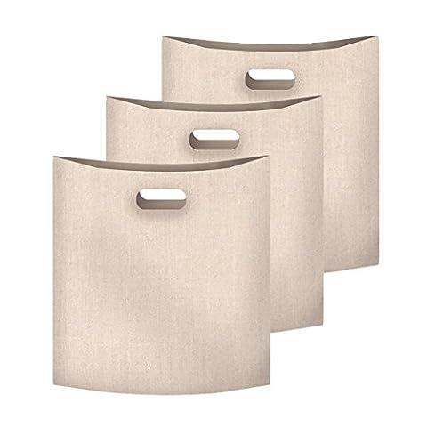 ALAIX Grille-pain sacs réutilisables 100 Utilisation non-Stick