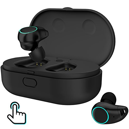 Arbily Bluetooth Kopfhörer Kabellos In Ear True Wireless Earbuds mit Portable Mini Ladebox,Bluetooth Stereo Headset Sport Ohrhörer,Noise Cancelling Kopfhörer mit Mikrofon