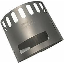 jolmo Lander titanio soporte para quemadores de alcohol soporte para plantas de titanio
