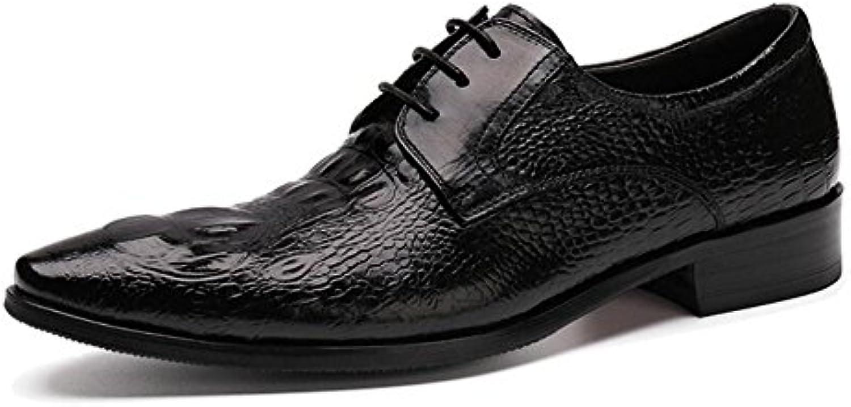SHIXRAN Uomini Oxford Brogue Nuovo Business Suits Scarpe Uomo Scarpe Scarpe Scarpe Crocodile Pattern Authentic scarpe Pointed... | Prima Consumatori  8a0237