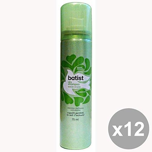 Set 12 BATIST Shampoo Secco 75 Ml. Classico Prodotti per capelli