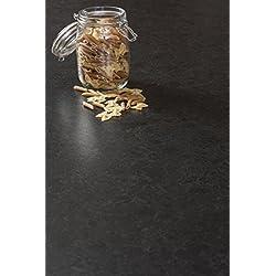 Schwarzer Granit - Resopal Küchenarbeitsplatten (4.1m × 600mm × 38mm)