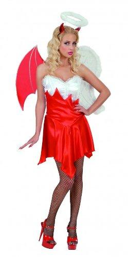 Imagen de disfraz ángel y demonio mujer halloween  l