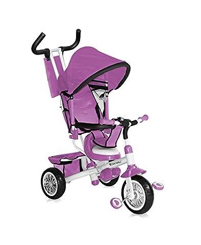 Lorelli B302A Tricycle Evolutif pour Bébé/Enfant 1-4 Ans Rose
